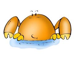 巨蟹座喜欢一个人的表