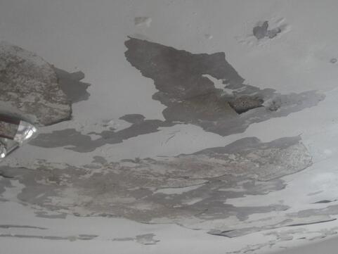 梦见屋顶结冰漏水了